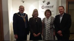 Mayor of Charnwood meeting Joy Lockton