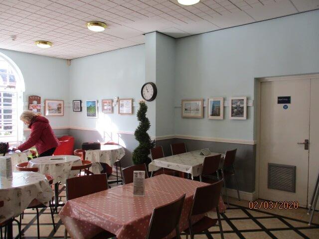 Queen's Park Cafe art exhibition
